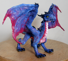 Dragon Sculpture by Niicchan