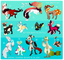 COLLAB ADOPTS by MrGremble