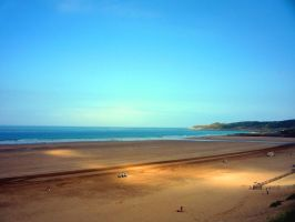 Woolacombe At Second Light by AFoxCalledAndrew