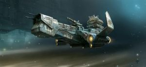 Solar Cargo by hunterkiller
