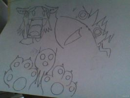 An old Soul Eater drawing by Deaththekid1388