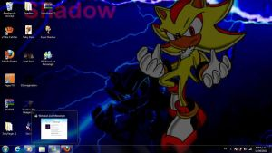 Shadow the hedgehog Wallpaper 3 by I-G-imagination