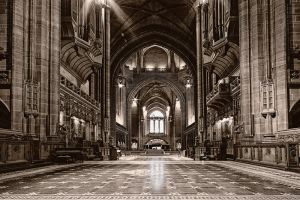 Inside the cathedral by CharmingPhotography