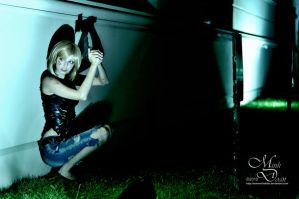 Parasite Eve - Trapped in the Dark by maverickdelta