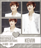 Kevin (U-KISS) - PHOTOPACK#01 by JeffvinyTwilight