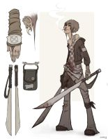 Dominik-character design by enmi