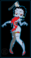 Zombie Betty Boop by Big-Rex