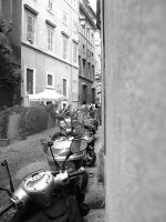 Scooters in Rome by timlori