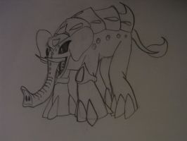 .:SD:. Elephant Boss by ARTic-Weather