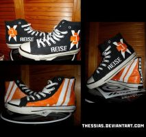 Rammstein Reise, Reise shoes by thessias