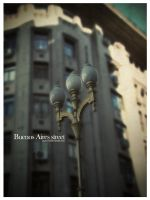 Buenos Aires street by pincel3d