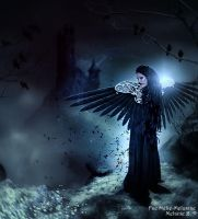 An Angel in the Night by Fae-Melie-Melusine