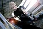 Final Fantasy VII - Cloud by Xeno-Photography