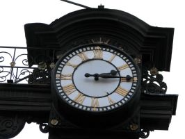 old town clock by thiselectricheart