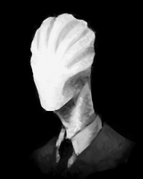 Slenderman by HawtKoffee