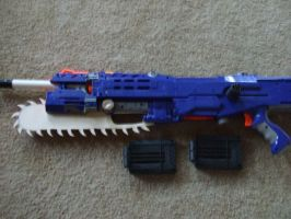Prototype NERF lancer 2 by CrimsonFox36