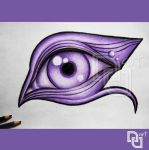 Purplemon-eye by Nu--Art
