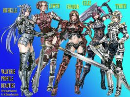 Valkyrie Profile Beauties by darkside-ky
