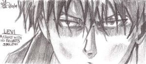 Levi's eyes at pencil by ValElfenMoon