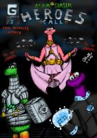 Alam Simsim - Heroes Call - Evil Numbers Attack by Gwaydesign
