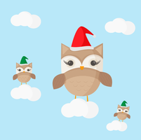 Owl Christmas by apparate