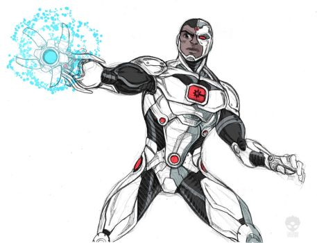 Cyborg N52.2.0 by LucianoVecchio
