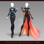 (CLOSED) Adoptable Outfit Auction 126-127 by Risoluce