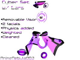 Cyber Set with Ears DL! by AnimeNebula003