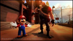 GM - Heavy Meets Mario by RatchetMario