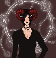 Alastor (Art Trade) by Fellonie