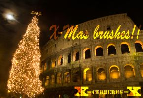 X-Mas brushes by X-Cerberus-X