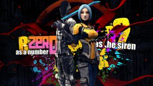 Borderlands 2: Maya and Zer0 by Brusya