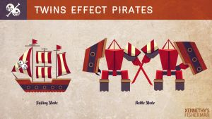 Fisherman- Twins Effect Pirates by Xennethy