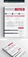 Clean Invoice Template by renefranceschi
