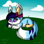Icyblizz on a grassy backround by SCOfficial