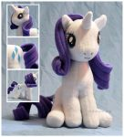 Commission - MLP - Rarity - Details by mihoyonagi