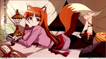 Spice and Wolf Desktop 3 by PharaohAtisLioness
