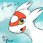 Latias avatar free by Proshi