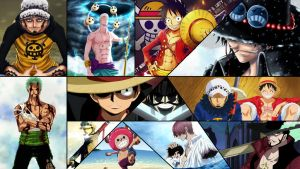 One Piece Collage by Dinocojv