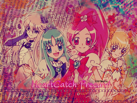 HeartCatch Precure Wallpaper by dejikohanasaki