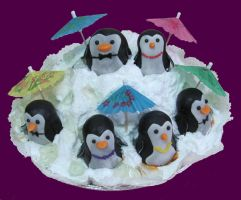 Cool penguins by monarte
