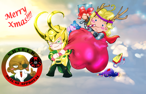 the Loki that stole the christmas by liaartemisa
