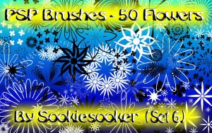 Free PSP Brushes 6 by Sookie by sookiesooker