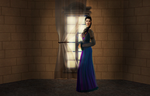 Sims 2 Merlin, Series 1: The Lady Morgana by OnceandFuturePrat
