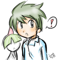 Mitsuru and Ralts by ier