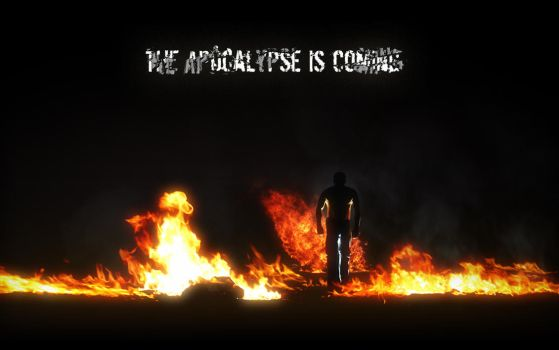 Zombie Apocalypse Wallpaper 1 by Soulburned