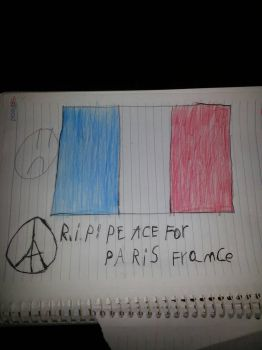 RIP peace for paris france by cristopherS940