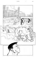 Hulk vs Thor Page 1 by thecreatorhd
