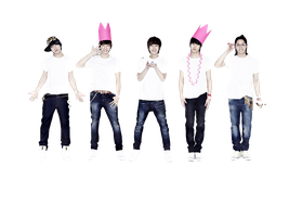 PNG:  B1A4 Group 1 by chazzief