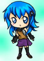 chibi request 2- Kaiko by Eeveelutions95